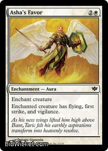 Asha's Favor, Conflux, Magic the Gathering