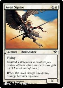 Aven Squire, Conflux, Magic the Gathering