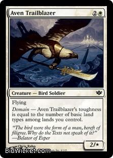 Aven Trailblazer, Conflux, Magic the Gathering