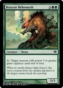 Beacon Behemoth, Conflux, Magic the Gathering