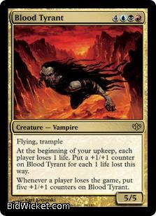 Blood Tyrant, Conflux, Magic the Gathering