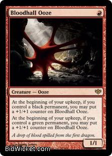 Bloodhall Ooze, Conflux, Magic the Gathering