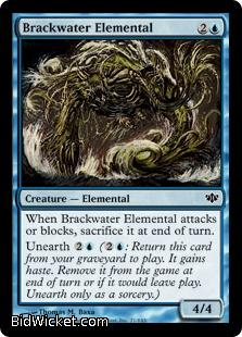 Brackwater Elemental, Conflux, Magic the Gathering