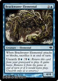 Brackwater Elemental, Conflux, Magic the Gathering