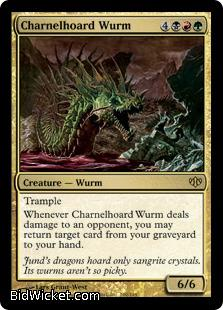 Charnelhoard Wurm, Conflux, Magic the Gathering