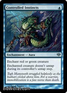 Controlled Instincts, Conflux, Magic the Gathering