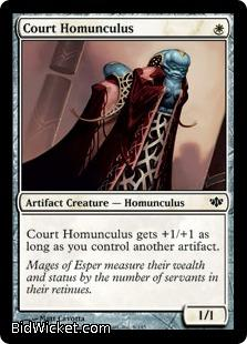 Court Homunculus, Conflux, Magic the Gathering