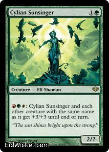 Cylian Sunsinger, Conflux, Magic the Gathering
