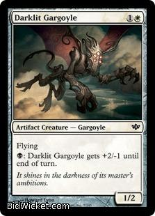 Darklit Gargoyle, Conflux, Magic the Gathering