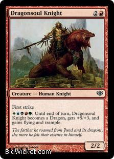 Dragonsoul Knight, Conflux, Magic the Gathering