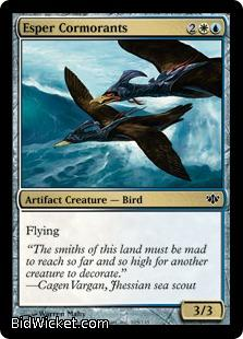 Esper Cormorants, Conflux, Magic the Gathering