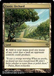 Exotic Orchard, Conflux, Magic the Gathering