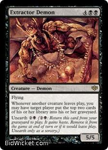 Extractor Demon, Conflux, Magic the Gathering