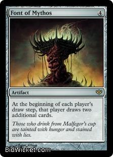 Font of Mythos, Conflux, Magic the Gathering