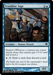 Frontline Sage, Conflux, Magic the Gathering