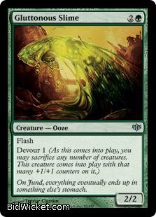 Gluttonous Slime, Conflux, Magic the Gathering