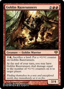 Goblin Razerunners, Conflux, Magic the Gathering