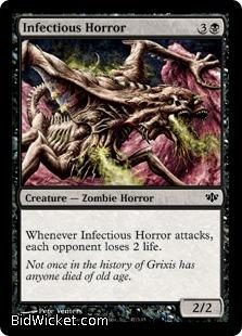 Infectious Horror, Conflux, Magic the Gathering
