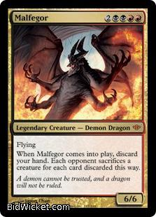 Malfegor, Conflux, Magic the Gathering