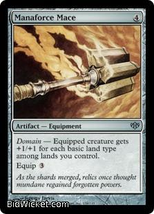 Manaforce Mace, Conflux, Magic the Gathering