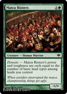 Matca Rioters, Conflux, Magic the Gathering