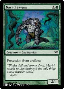 Nacatl Savage, Conflux, Magic the Gathering