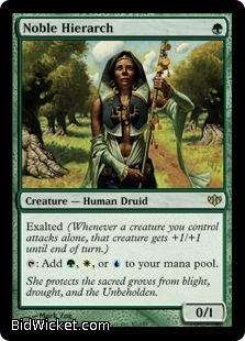 Noble Hierarch, Conflux, Magic the Gathering