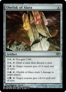 Obelisk of Alara, Conflux, Magic the Gathering