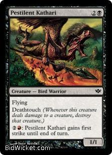 Pestilent Kathari, Conflux, Magic the Gathering