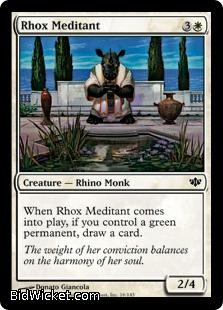 Rhox Meditant, Conflux, Magic the Gathering