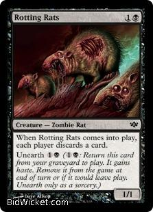 Rotting Rats, Conflux, Magic the Gathering