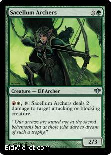 Sacellum Archers, Conflux, Magic the Gathering