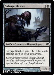 Salvage Slasher, Conflux, Magic the Gathering