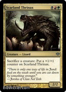Scarland Thrinax, Conflux, Magic the Gathering