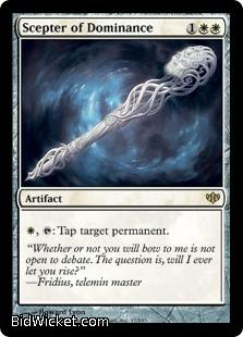 Scepter of Dominance, Conflux, Magic the Gathering