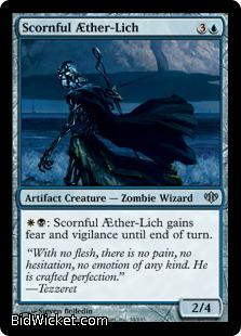 Scornful Aether-Lich, Conflux, Magic the Gathering