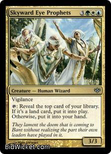Skyward Eye Prophets, Conflux, Magic the Gathering