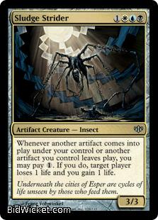 Sludge Strider, Conflux, Magic the Gathering