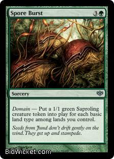 Spore Burst, Conflux, Magic the Gathering