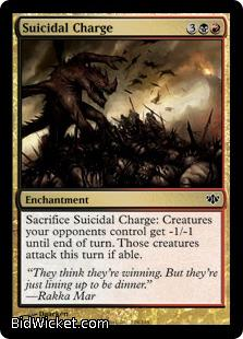 Suicidal Charge, Conflux, Magic the Gathering
