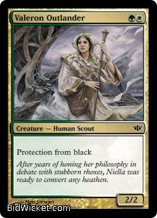 Valeron Outlander, Conflux, Magic the Gathering