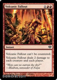 Volcanic Fallout, Conflux, Magic the Gathering