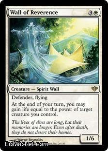 Wall of Reverence, Conflux, Magic the Gathering