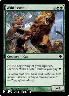 Wild Leotau, Conflux, Magic the Gathering