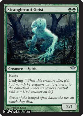 Strangleroot Geist, Dark Ascension, Magic the Gathering