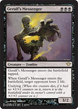 Geralf's Messenger, Dark Ascension, Magic the Gathering