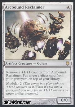 Arcbound Reclaimer, Darksteel, Magic the Gathering