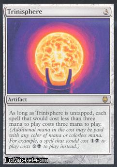 Trinisphere, Darksteel, Magic the Gathering