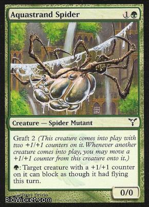 Aquastrand Spider, Dissension, Magic the Gathering