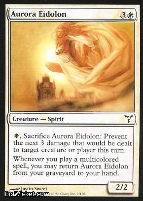 Aurora Eidolon, Dissension, Magic the Gathering